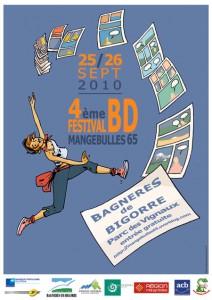 4ème Festival Mangebulles BD Bagnères de Bigorre 2010